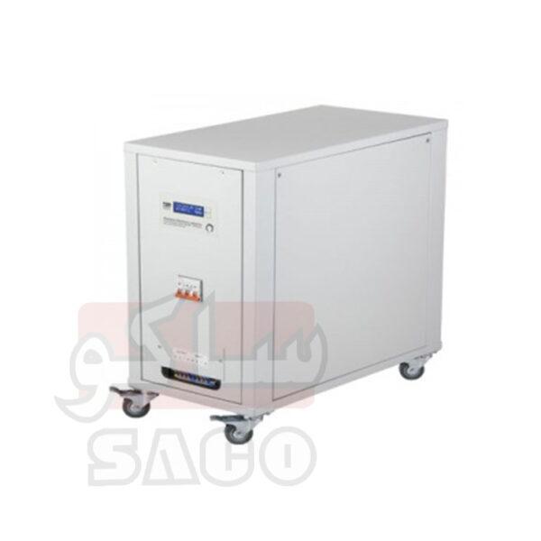 ترانس اتوماتیک دیجیتال ساکو سه فاز مدل 3VR-30000