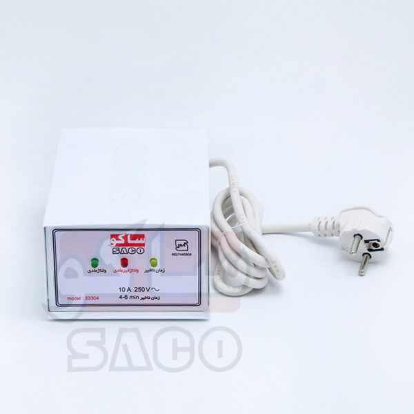 محافظ برق لباسشویی ظرفشویی با بدنه فلزی 33305