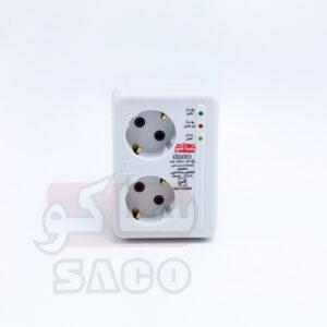محافظ برق بدون سیم ظرفشویی و لباسشویی دو خانه مدل 22215